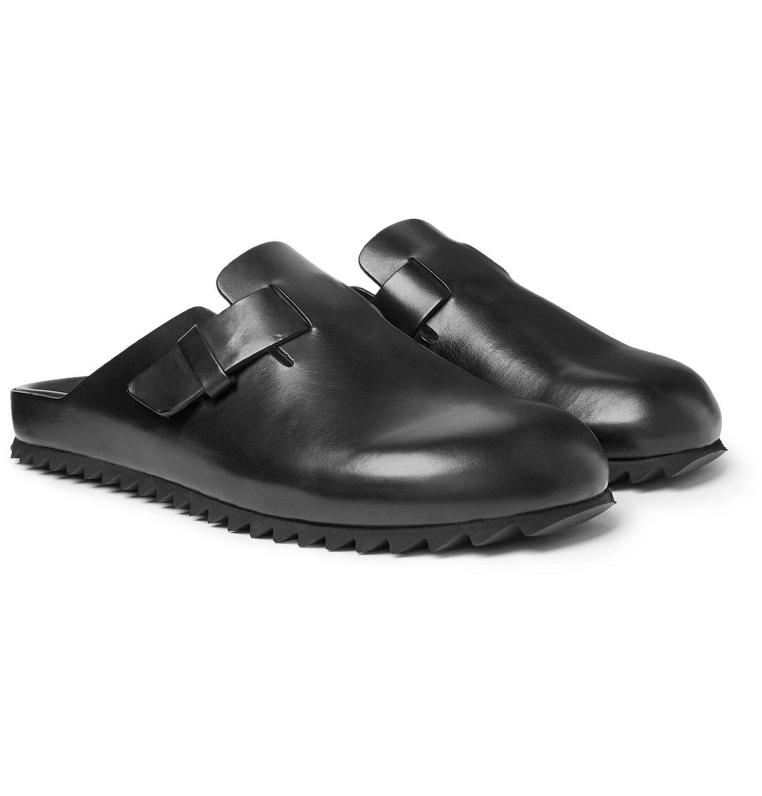 Photo: Officine Creative - Agora Suede Sandals - Black