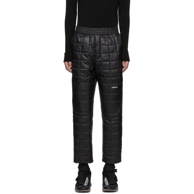 Photo: Ambush Black Quilted Lounge Pants