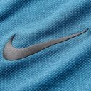Nike Running - Tech Pack Perforated Stretch Jacquard-Knit T-Shirt - Storm blue