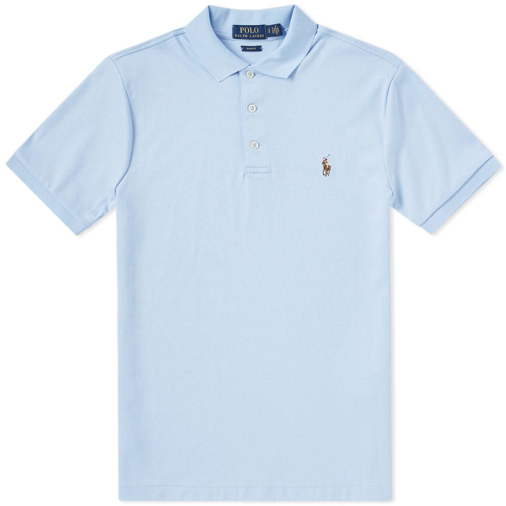 Photo: Polo Ralph Lauren Pima Jersey Polo Blue