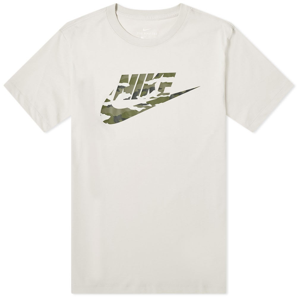 Photo: Nike Camo Logo Tee