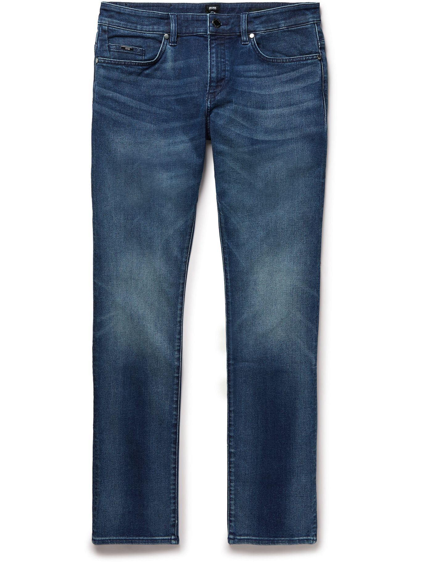 HUGO BOSS - Delaware Slim-Fit Jeans - Blue