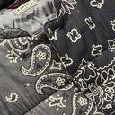 KAPITAL - Patchwork Bandana-Print Padded Cotton Jacket - Black