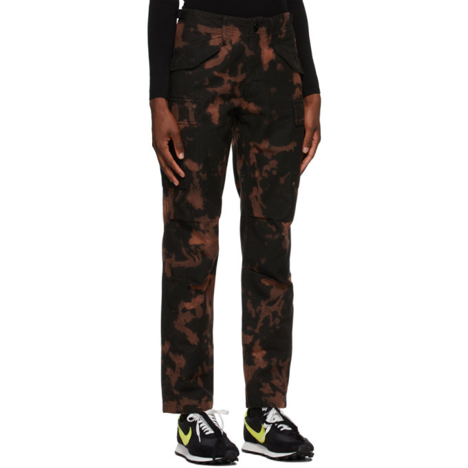 032c Black Bleached Trousers