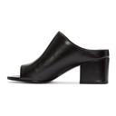 3.1 Phillip Lim Black Cube Slip-On Sandals