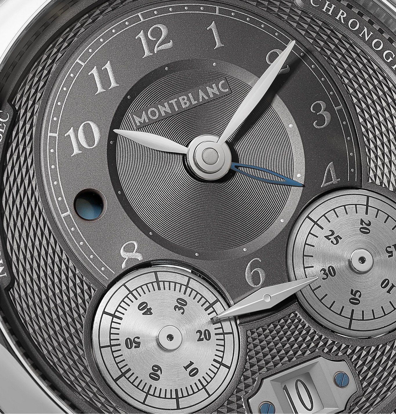 Montblanc - Star Legacy Nicolas Rieussec Automatic Chronograph 44mm Stainless Steel and Alligator Watch, Ref. No. 119954 - Unknown