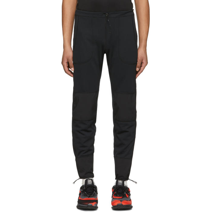 Photo: and Wander Black Dry Jersey Tight Sweatpants