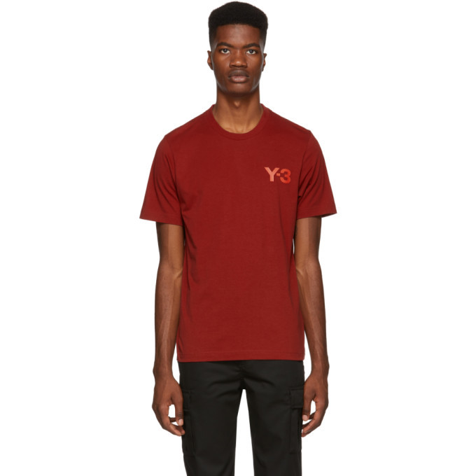Y-3 Red Classic T-Shirt