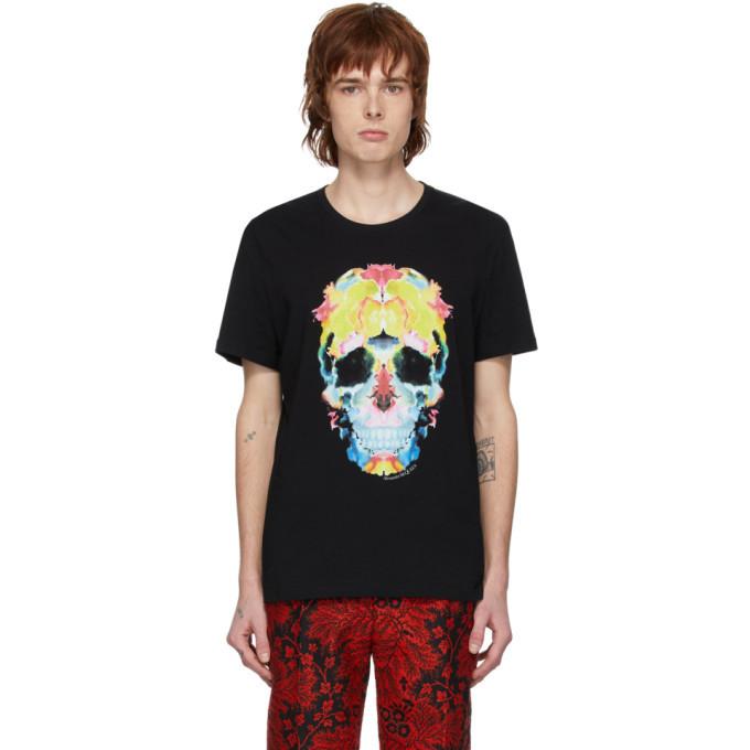 Photo: Alexander McQueen Black Skull T-Shirt