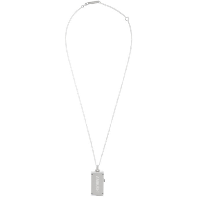 Ambush Silver USB Necklace