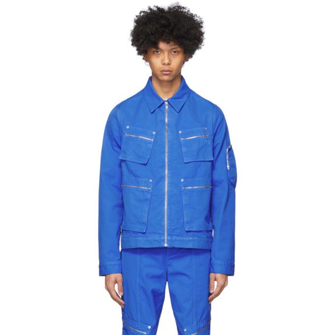 Photo: Eckhaus Latta Blue Ike Jacket