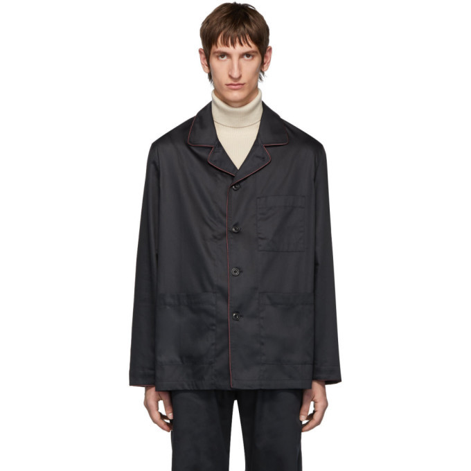 Photo: Lemaire Navy Sunspel Edition Light Jacket