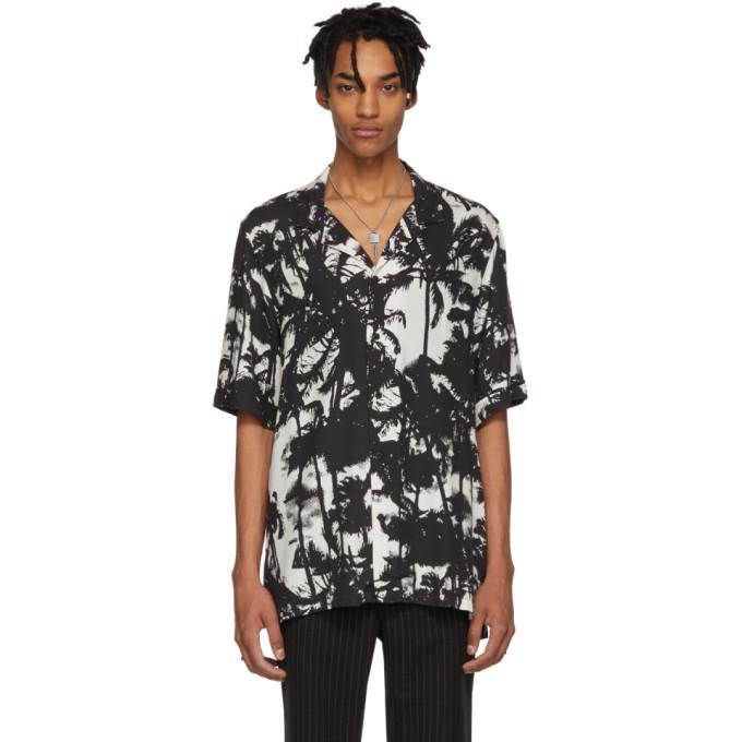 Ksubi Black and White Resort Troppo Shirt
