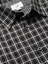 Dunhill - Checked Cotton-Poplin Shirt - Black