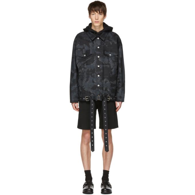 Photo: 1017 Alyx 9SM Black and Grey Mackintosh Edition Oversized Jacket