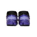 Raf Simons Purple and Black adidas Originals Edition Ozweego III Sneakers