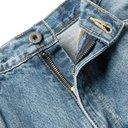 KAPITAL - Embroidered Appliquéd Denim Jeans - Blue
