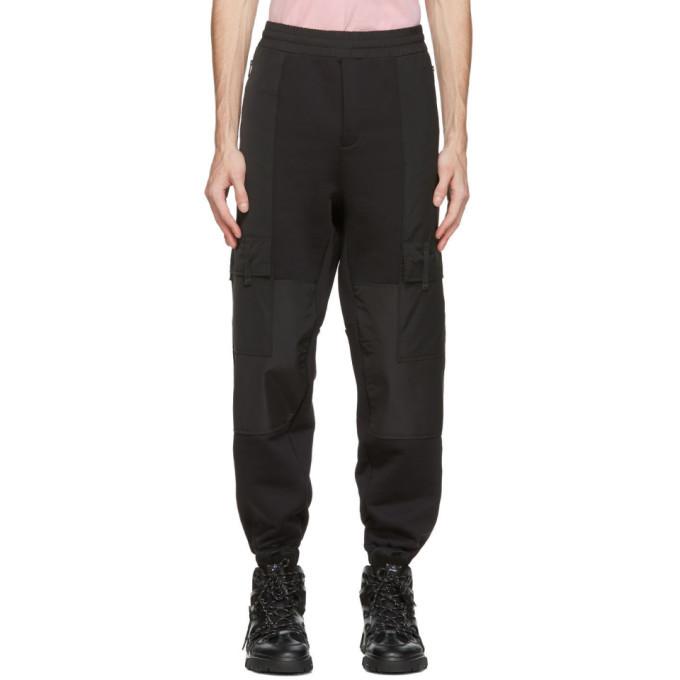 MCQ Black Darkest Cargo Pants