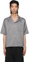 GmbH Grey Wool Jacquard Luka Short Sleeve Shirt