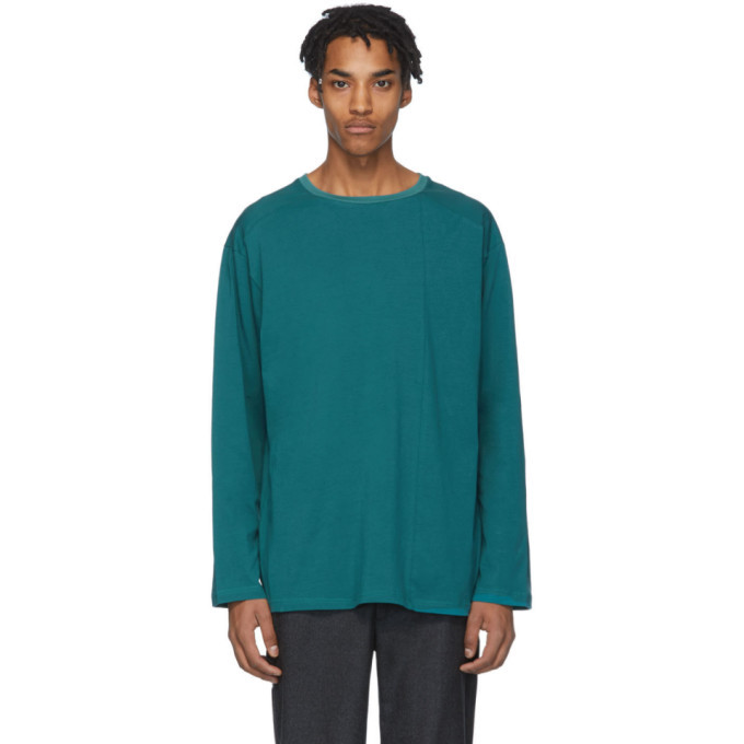 Photo: House of the Very Islands Green Off-Shore Long Sleeve T-Shirt