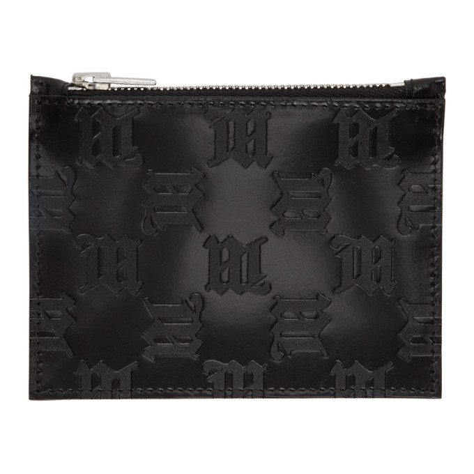Photo: MISBHV Black Embossed Monogram Card Holder