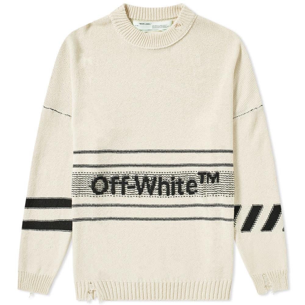 Photo: Off-White Cotton TM Crew Knit
