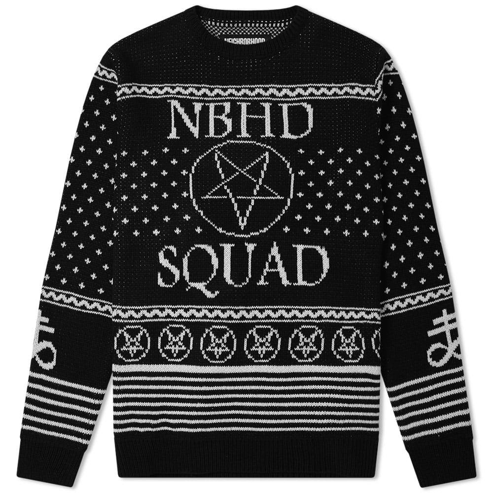 Photo: Neighborhood Squad Crew Knit