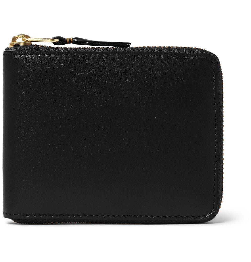 Photo: Comme des Garçons - Zip-Around Leather Wallet - Men - Black
