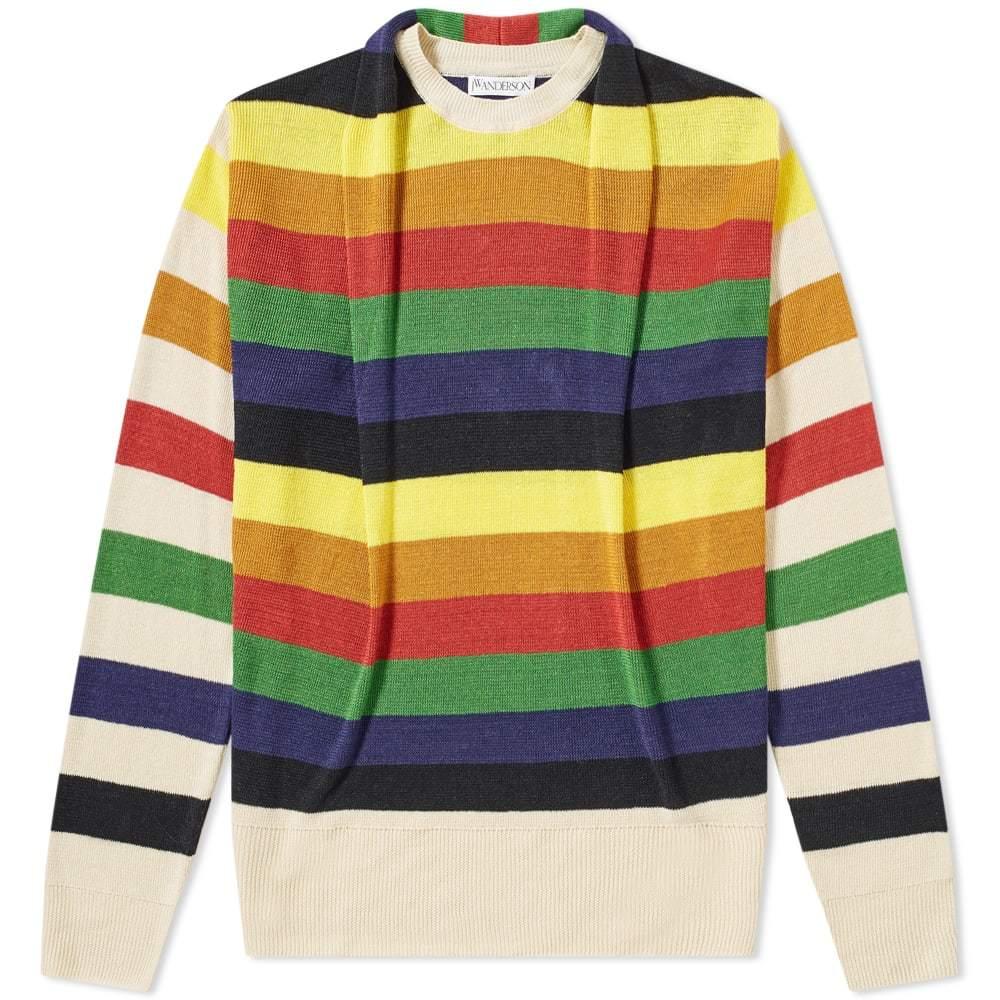 Photo: JW Anderson Multicolour Stripe Knit