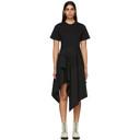 3.1 Phillip Lim Black Shirt Handkerchief Dress