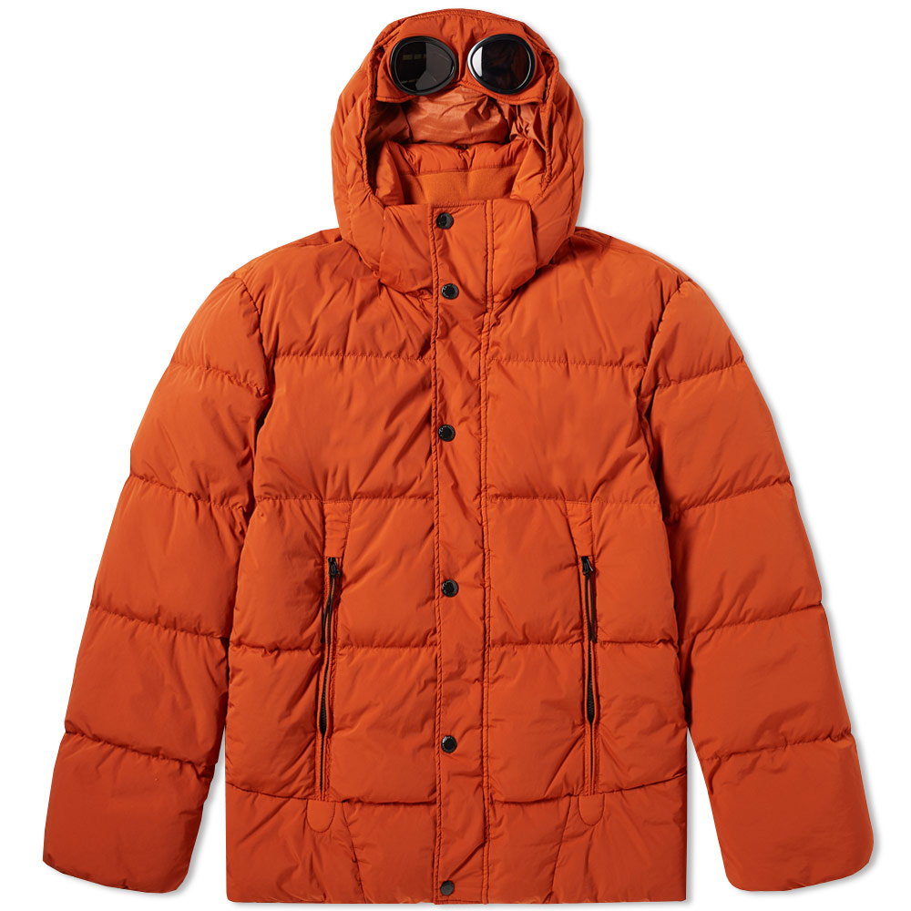 C.P. Company Garment Dyed Nycra Down Goggle Jacket