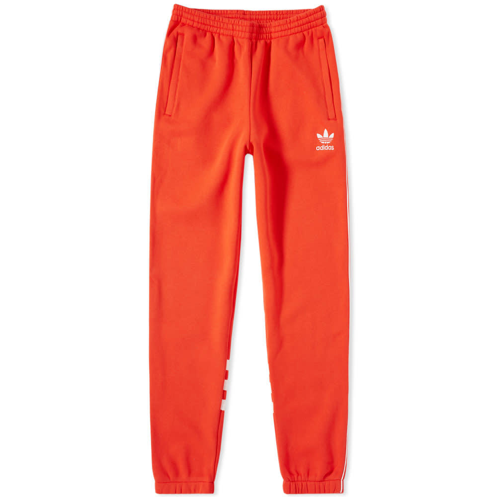 Photo: Adidas Authentic Sweat Track Pant Red