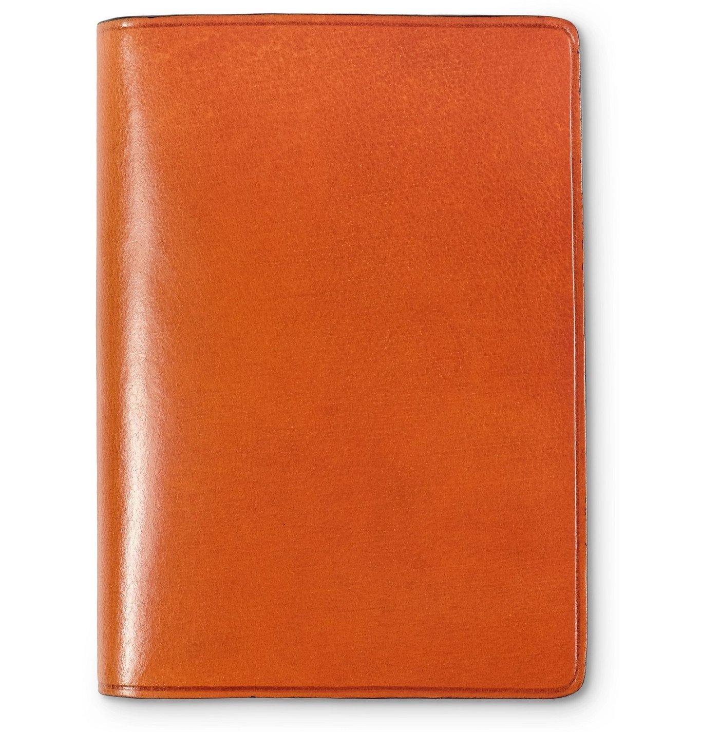 Photo: Il Bussetto - Polished-Leather Bifold Cardholder - Orange