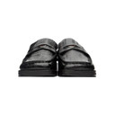 Martine Rose Black Embossed Arches Loafers