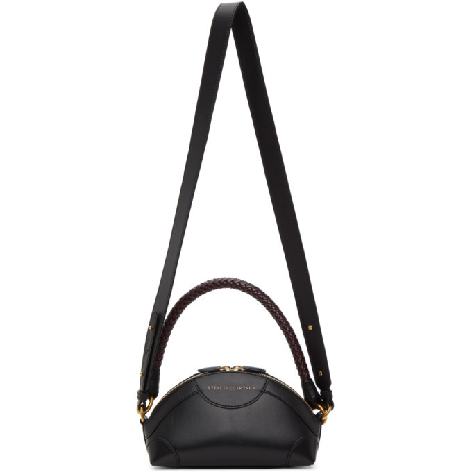 Stella McCartney Black Mini Doctor Bag