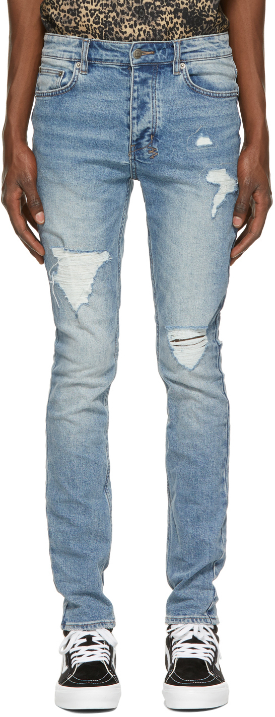 Photo: Ksubi Blue Chitch Jeans
