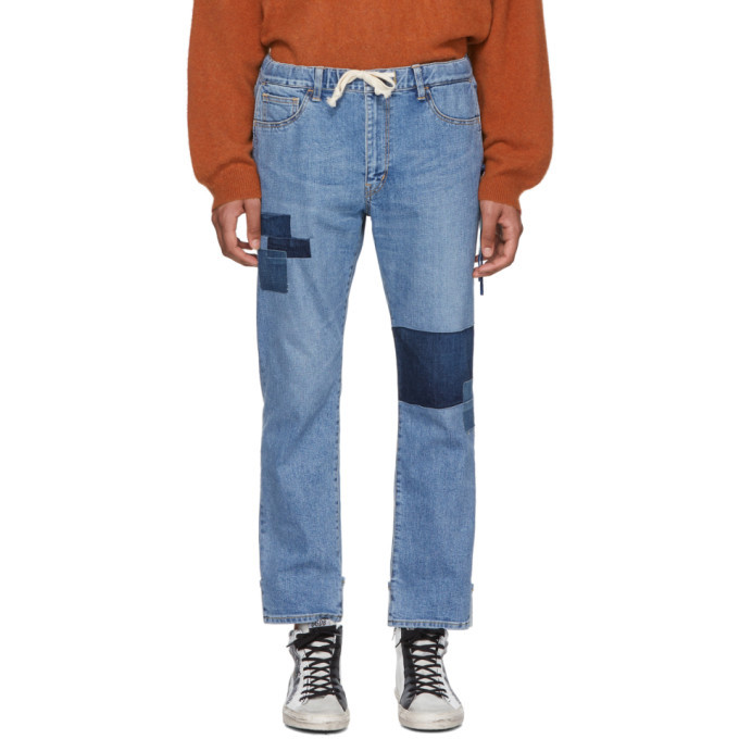 Photo: Remi Relief Blue Remake Easy Jeans