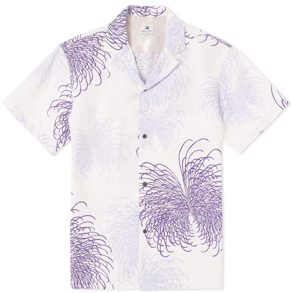 Photo: Sasquatchfabrix Fireworks Notched Collar Shirt White