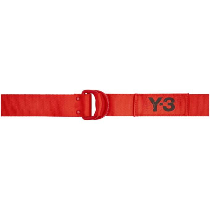 Photo: Y-3 Red Logo Belt