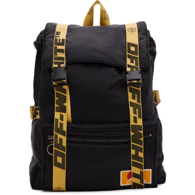 Photo: Off-White Black Oversize Puffy Backpack