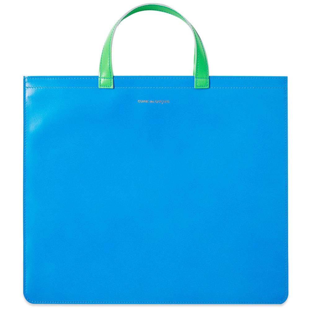 Photo: Comme des Garcons Super Fluro Leather Tote Bag