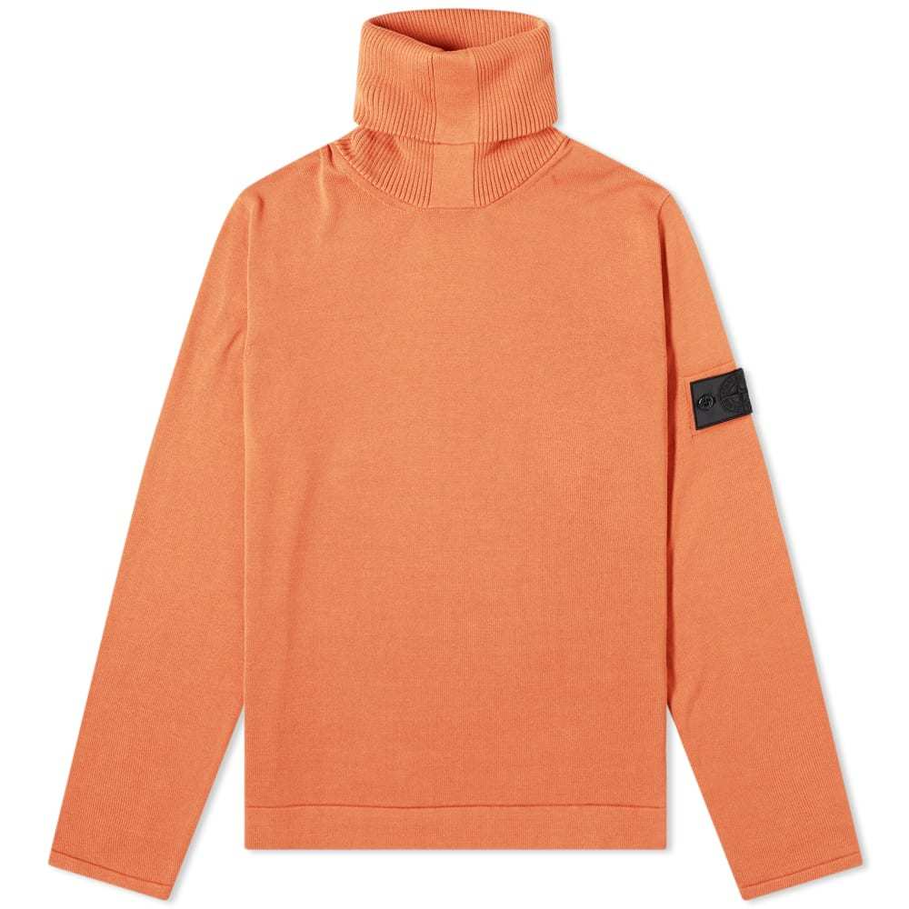 Photo: Stone Island Shadow Project Pure Cotton Roll Neck Knit