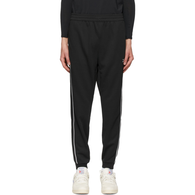 Photo: Reebok Classics Black Double Knit Workout Lounge Pants