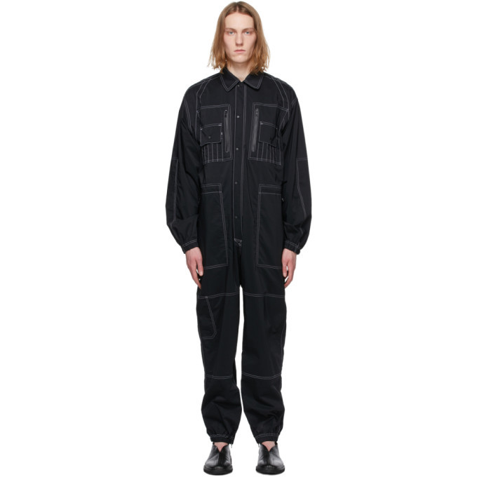 Photo: Sasquatchfabrix. Black All-In-One Jumpsuit