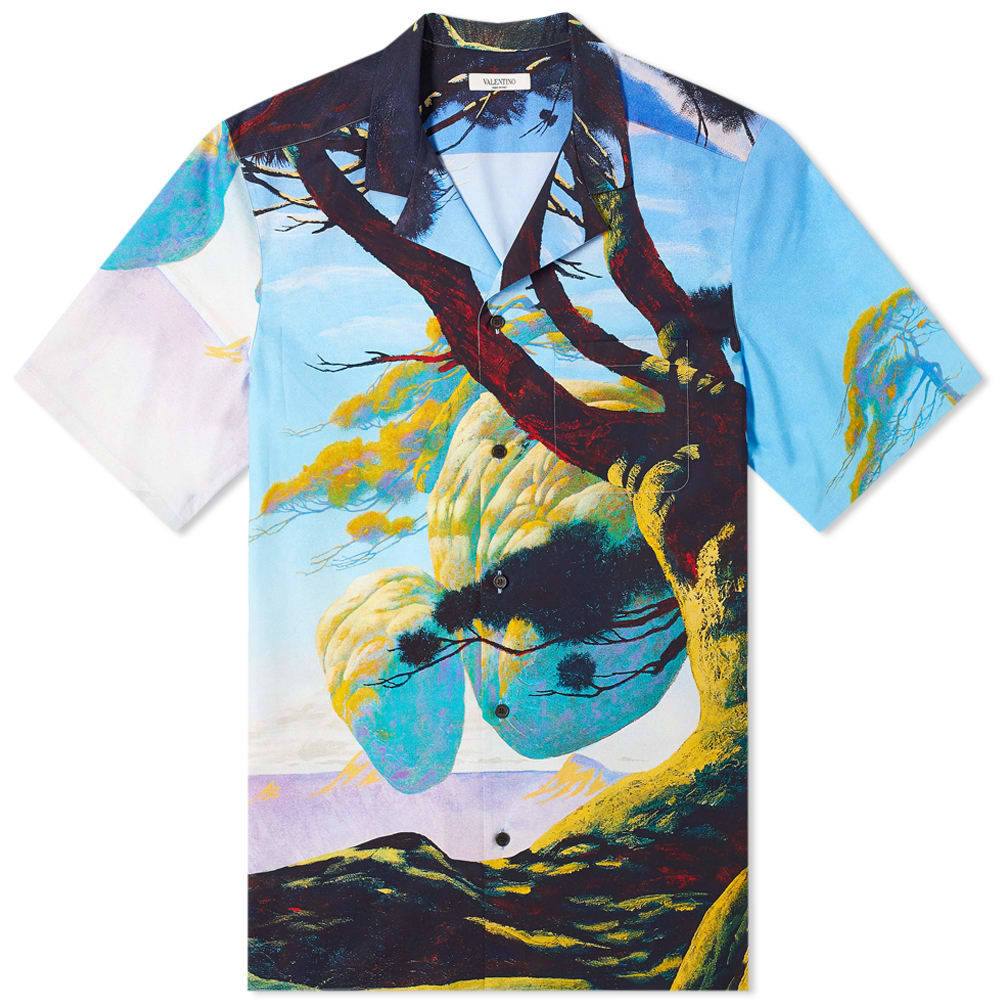 Photo: Valentino x Roger Dean Floating Island Vacation Shirt