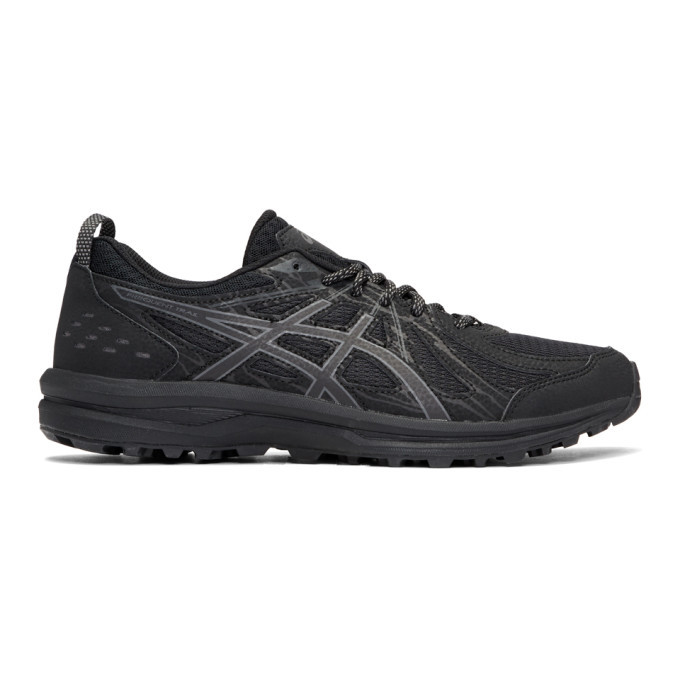 Photo: Asics Black Frequent Trail Sneakers