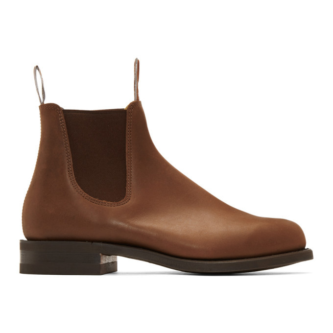 Photo: R.M. Williams Brown Comfort Turnout Chelsea Boots