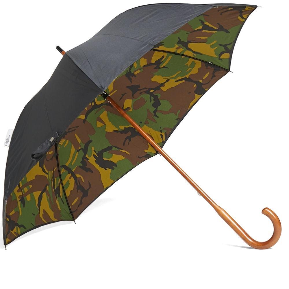 Photo: London Undercover Classic Umbrella Black & Woodland Camo