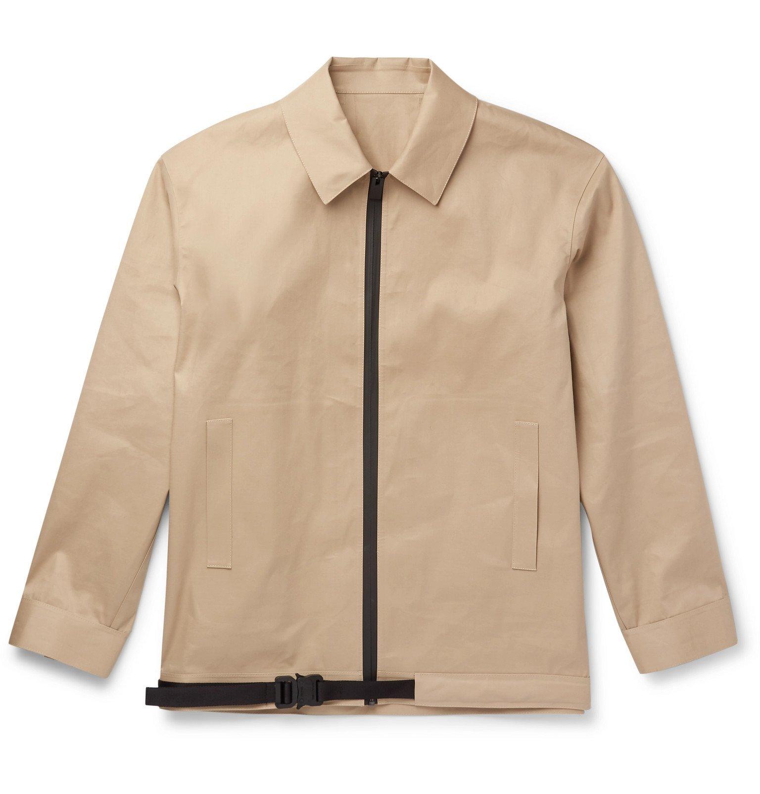 1017 ALYX 9SM - Mackintosh Bonded Cotton Jacket - Neutrals