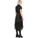 Sacai Black Pleated Dress